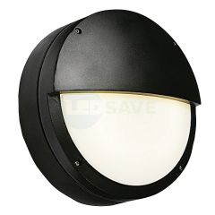 18W Round 3hr Emergency Die-cast Half Moon LED Bulkhead Light