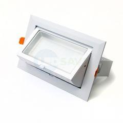 40W Adjustable Rectangular Wall Washer LED